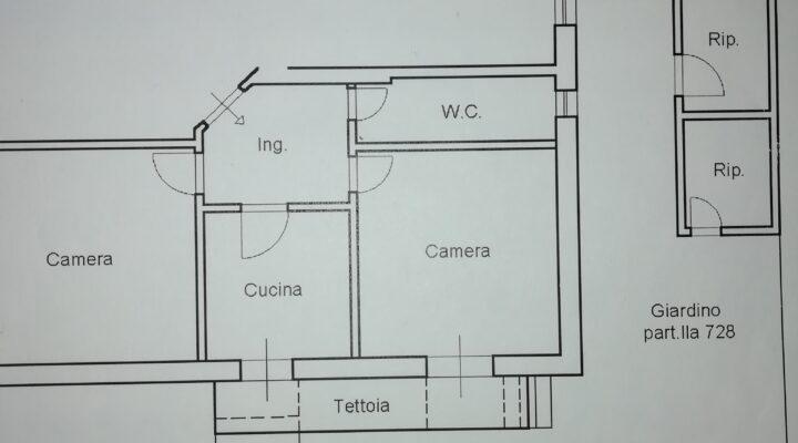 Appartamento via degli aceri, Roma floorplan 1