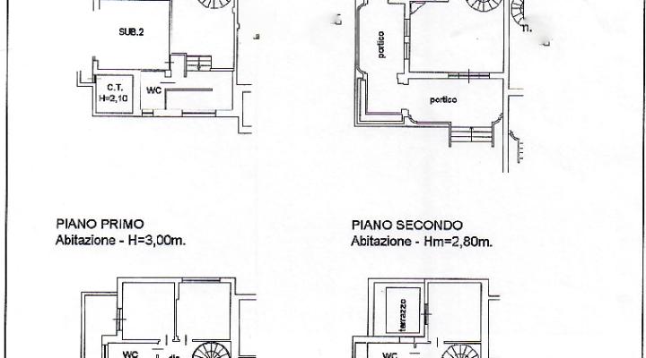 Via delle Cinque Miglia, Lavinio, Anzio floorplan 1