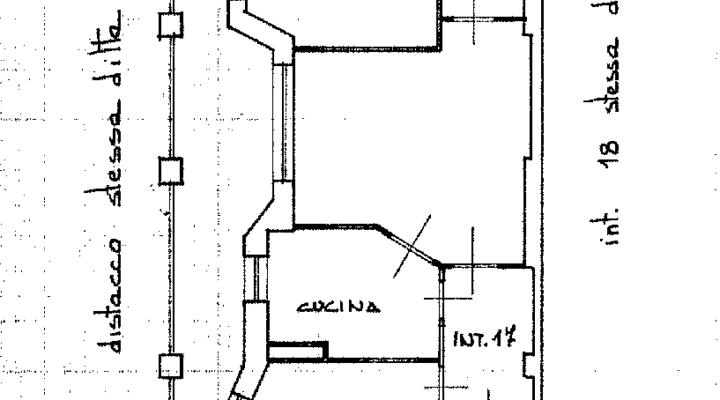 Quadrilocale ristrutturato Via Tripolitania floorplan 1