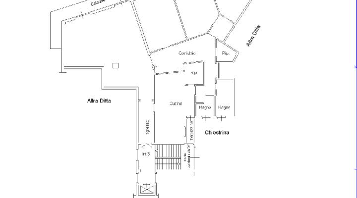 Quadrilocale Largo della Caffarelletta floorplan 1